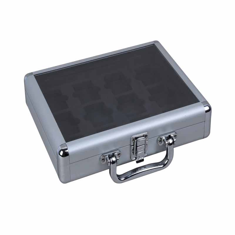 Aluminum Case with Transparent Panel