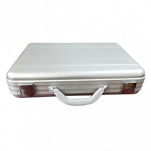 Pure Aluminum Case/ Aluminum Briefcase with Pockets